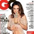 De son côté, Mila Kunis la joue coquine et gourmande pour GQ.