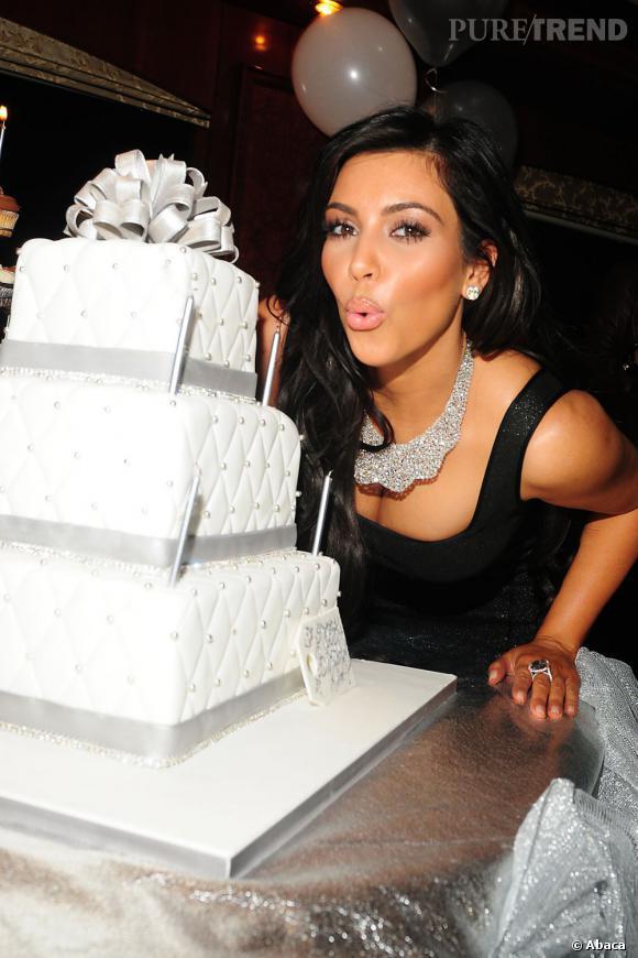 Aujourd'hui, Kim Kardashian fête ses 32 ans.