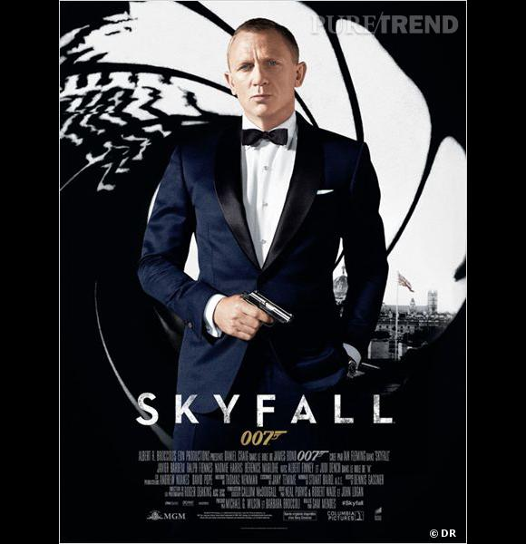 skyfall les chiffres cl s de la saga james bond. Black Bedroom Furniture Sets. Home Design Ideas