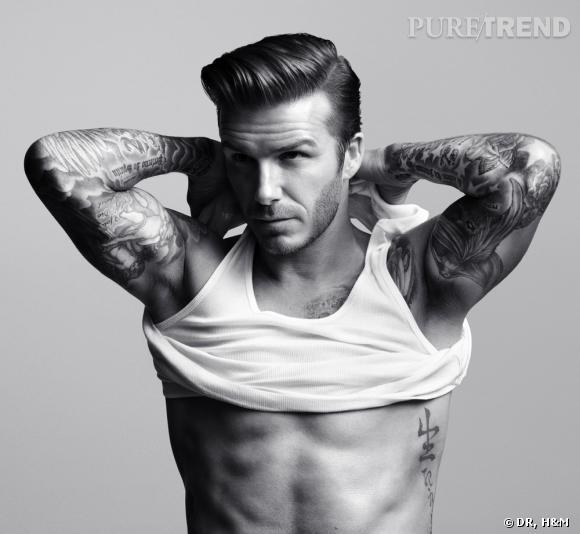Pour H&M, David Beckham fait ressortir le King qui est en lui.