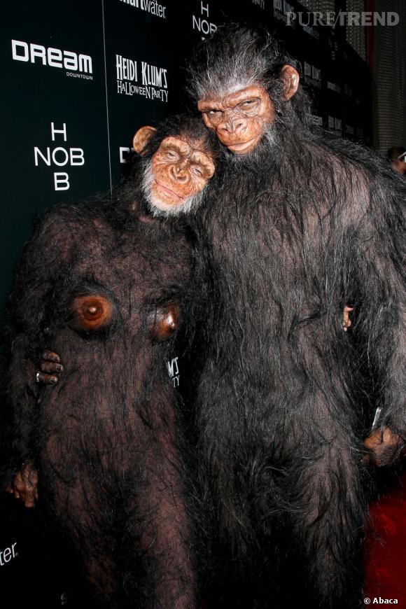 Heidi Klum et Seal avait cette passion commune pour les improbables costumes.