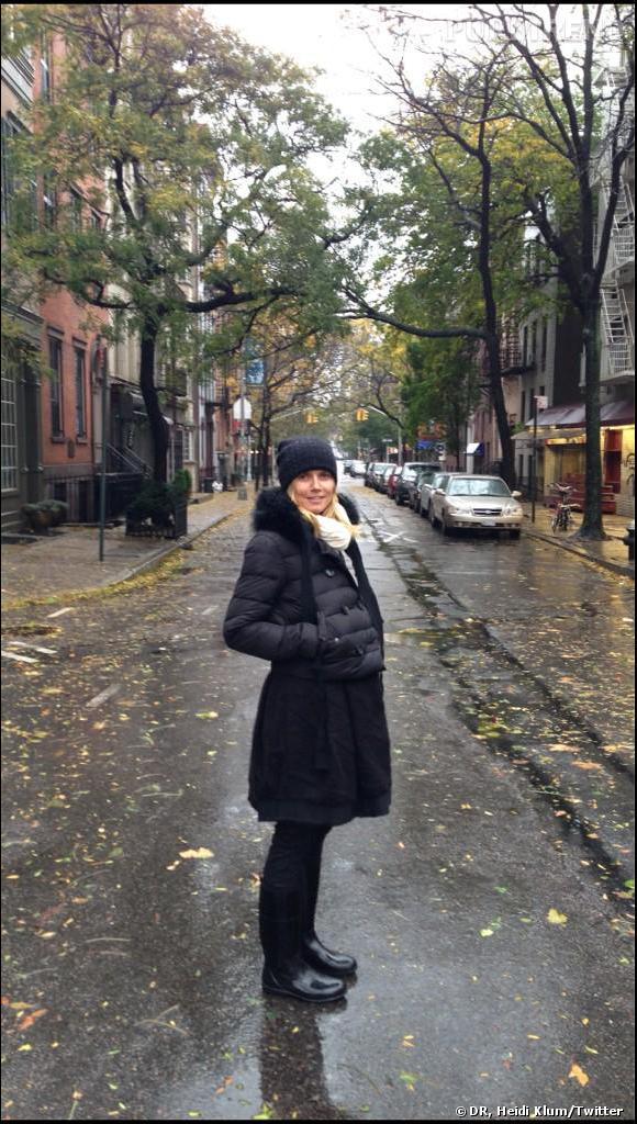 Heidi Klum toute seule à New York a dû annuler sa soirée d'Halloween.