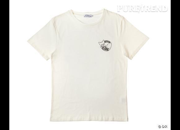 Le must have de Marijjke T-shirt anniversaire Kitsuné 10 ans, 50 €
