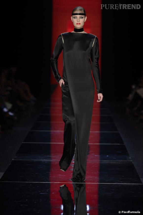 Sur le podium :  défilé Jean Paul Gaultier Haute Couture Automne-Hiver 2012/2013.