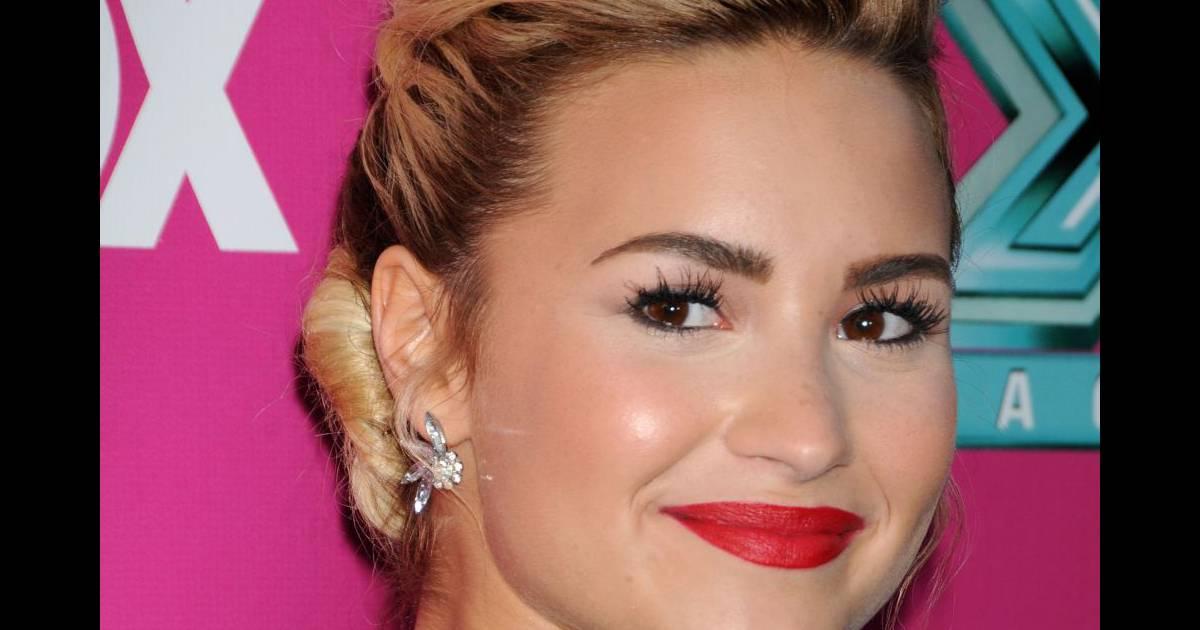 Hair Style Jure : Actuellement jur? de l?mission X Factor, Demi Lovato a elle aussi ...