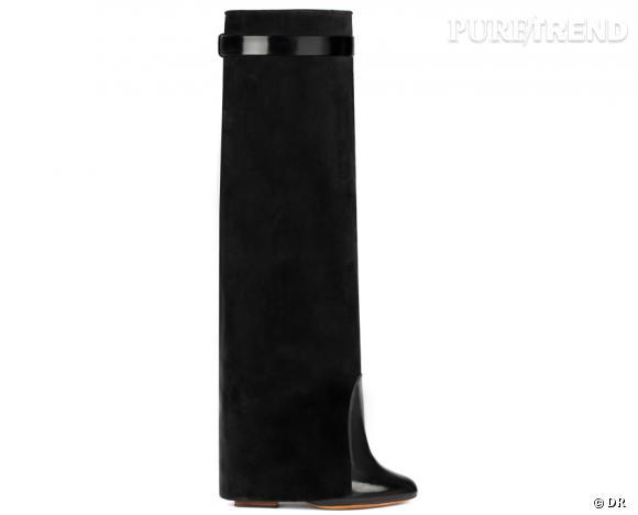 50 bottes, boots et bottines pour cet hiver !       Bottes en daim Givenchy, 1390 €