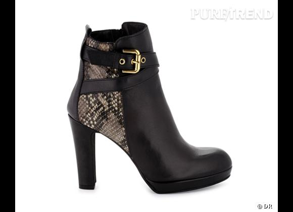 50 bottes, boots et bottines pour cet hiver !       Bottines CosmoParis, 189 €
