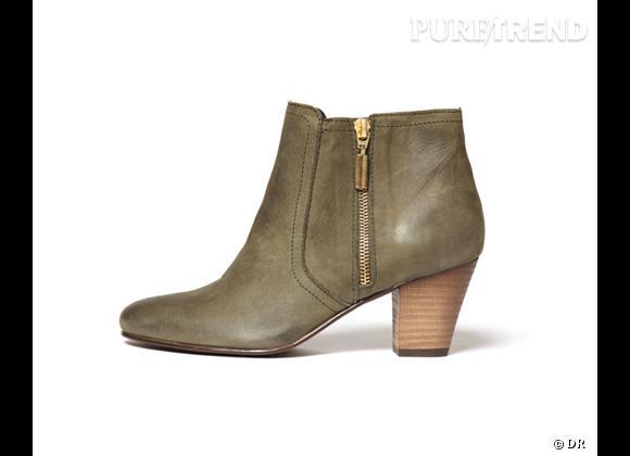 50 bottes, boots et bottines pour cet hiver !       Bottines Lafayette Collection aux Galeries Lafayette, 129 €
