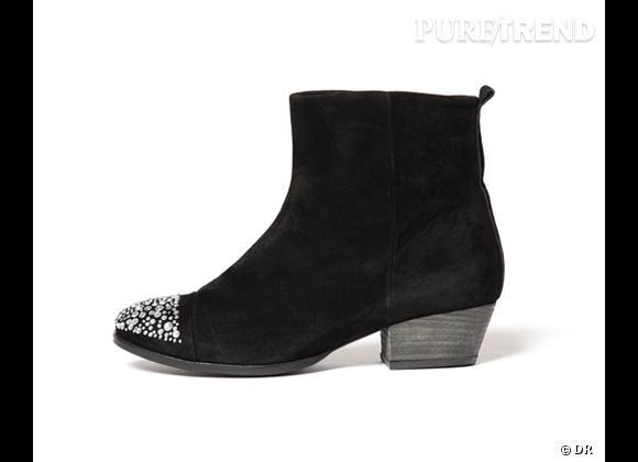 50 bottes, boots et bottines pour cet hiver !      Boots Mista aux Galeries Lafayette, 208 €