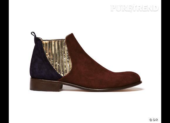 50 bottes, boots et bottines pour cet hiver !       Low boots MySuelly aux Galeries Lafayette, 275 €