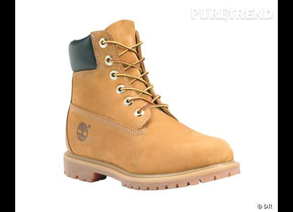 50 bottes, boots et bottines pour cet hiver !       Boots Timberland Classic, environ 150 €