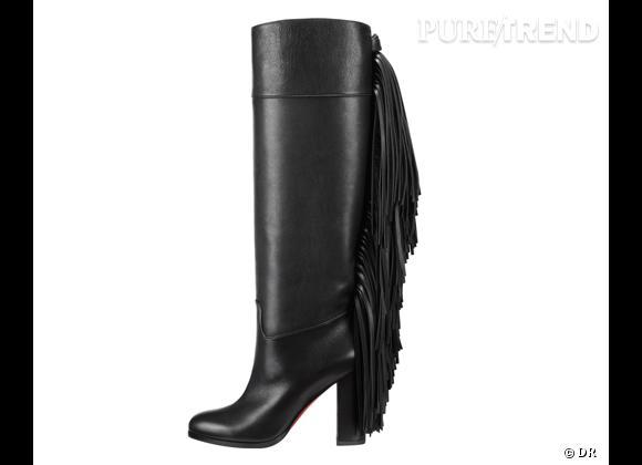 50 bottes, boots et bottines pour cet hiver !       Bottres Glamafrange Christian Louboutin, 1495 €