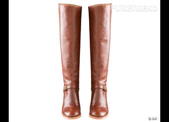 50 bottes, boots et bottines pour cet hiver !       Bottes A.P.C, 490 €