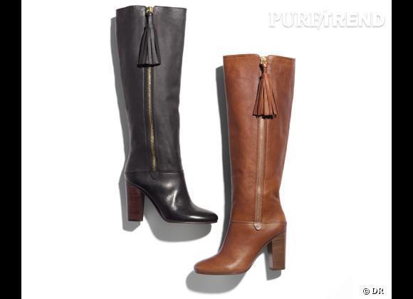 50 bottes, boots et bottines pour cet hiver !       Bottes Coach, prix sur demande