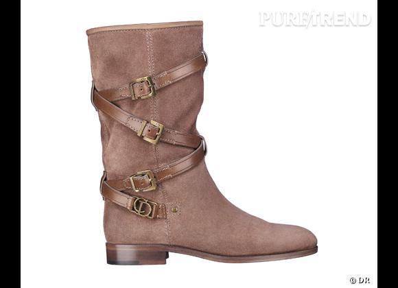 50 bottes, boots et bottines pour cet hiver !       Bottes Christian Dior, prix sur demande