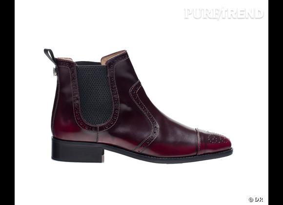 50 bottes, boots et bottines pour cet hiver !       Low boots Massimo Dutti, 145 €