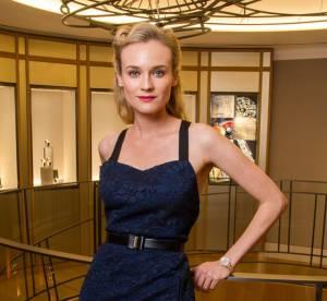 Diane Kruger inaugure la nouvelle boutique Jaeger-LeCoultre place Vendome