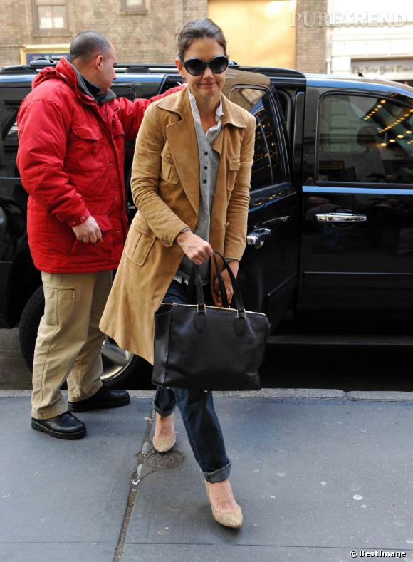 Katie Holmes sensuelle new-yorkaise.