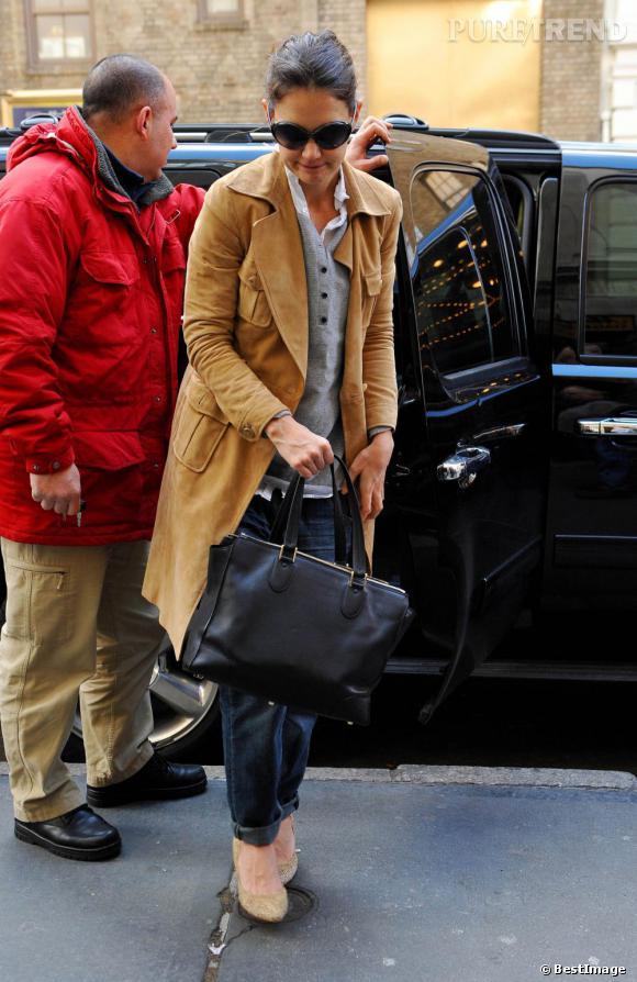 Katie Holmes, toujours mode.