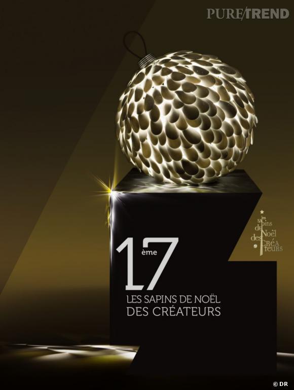 17e édition des Sapins de Noël des créateurs, du 4 au 9 décembre 2012.