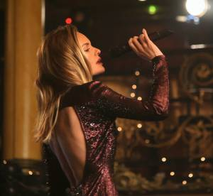Kate Bosworth : diva de la chanson pour le ''Winter Wonderland'' de Topshop