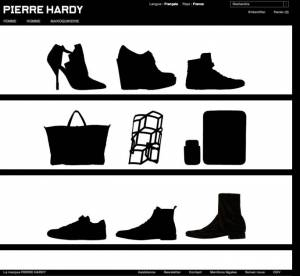 Pierre Hardy lance son e-shop