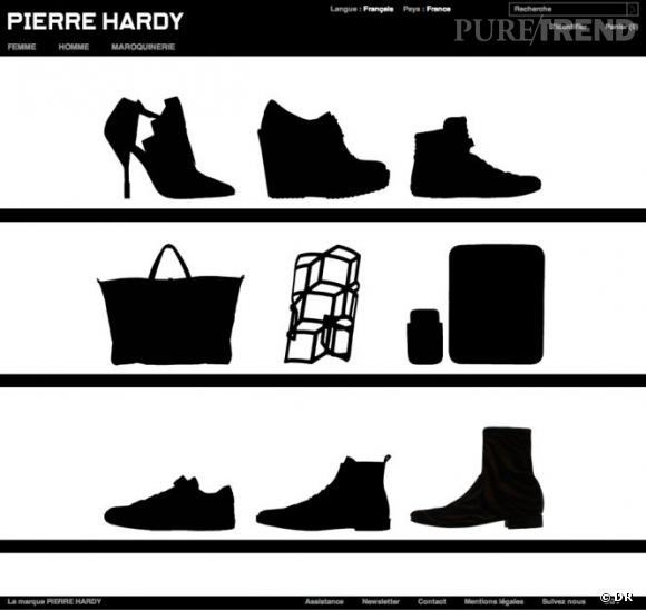Pierre Hardy lance son e-shop !