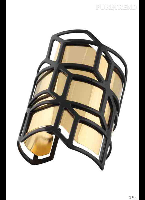 A shopper sur e-store de Pierre Hardy : manchette Cube