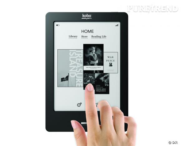 Must have pour Noël : les liseuses tactiles Kobo by Fnac Liseuse Kobo Touch, 99,90 €