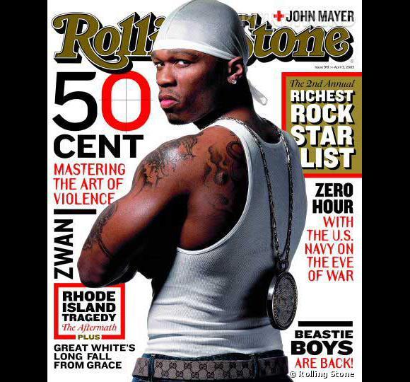 """N°20 """"In Da Club"""" 50 Cent  2003 ."""
