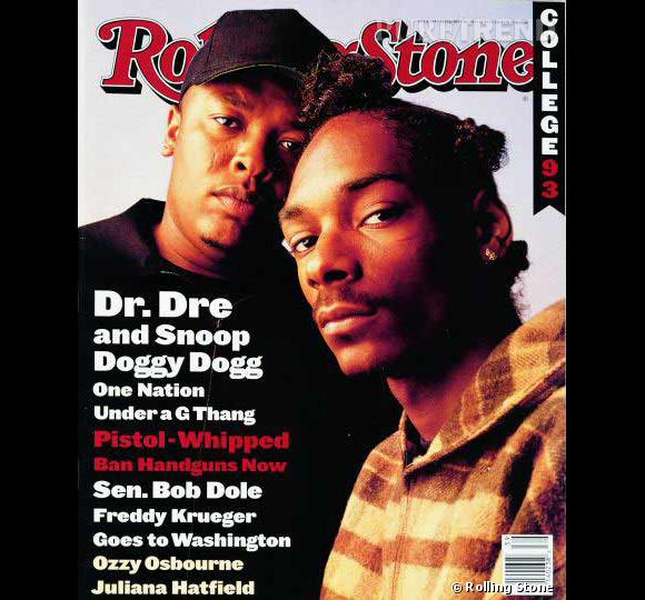 "N°6 ""Nuthin' But a 'G' Thang"" Dr. Dre feat. Snoop Doggy Dogg  1992 ."