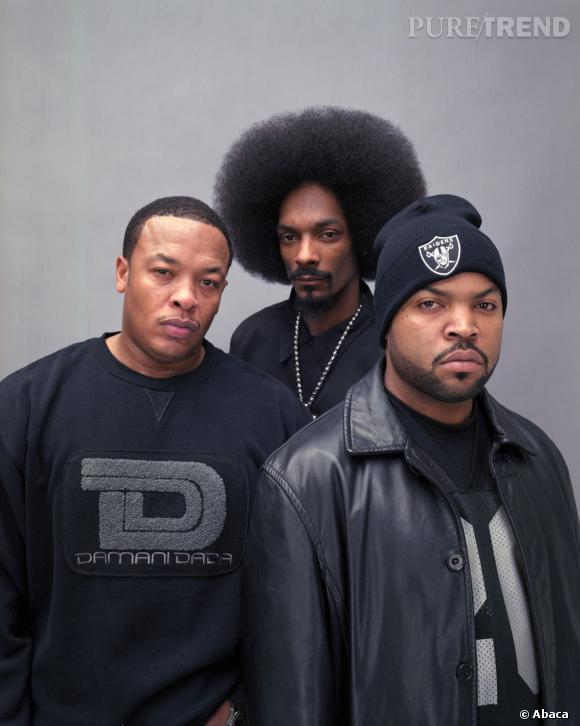 Géants du hip hop, Dr.Dre et Snoop Dogg, ici accompagné de Ice Cube ont-ils marqué l'histoire de la musique ?