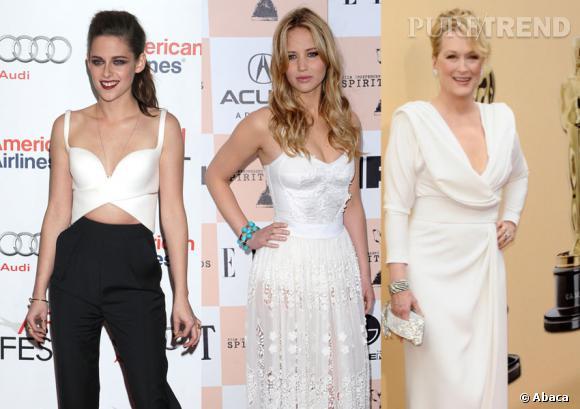 Kristen Stewart, Jennifer Lawrence et Meryl Streep font partie des femmes les plus puissante à Hollywood en 2012.