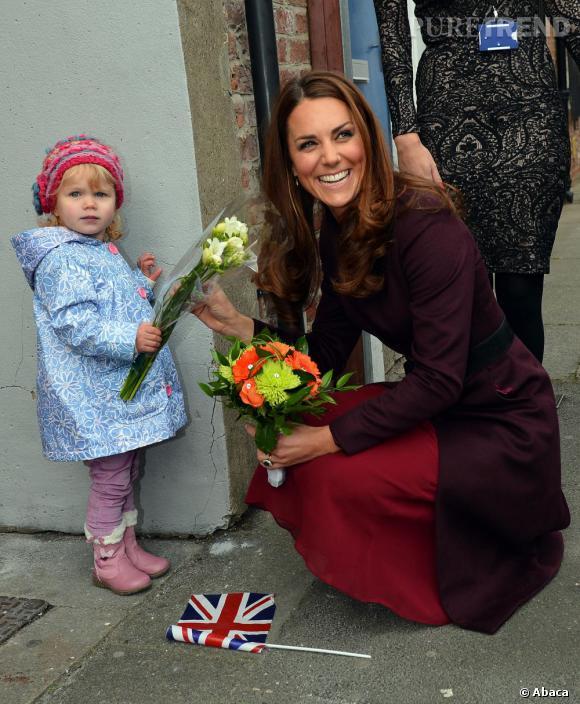 Kate Middleton... est si elle attendait une fille ?