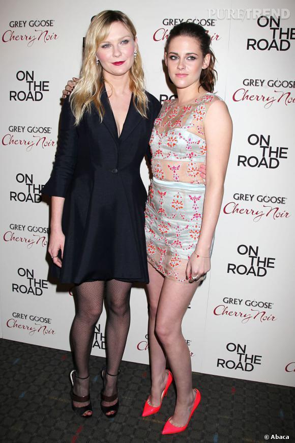 Kirsten Dunst et Kristen Stewart.