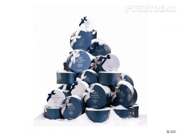 Noël : Et si on offrait un soin sous le sapin ? Thalgo propose de nombreux coffrets de fêtes contenant des soins et une invitation au spa.