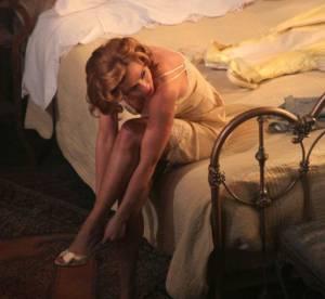 Scarlett Johansson retro et terriblement sexy pour Broadway