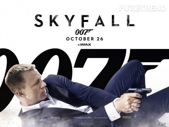 """""""Skyfall"""" a fait 6 623 364 entrées en France au 18 décembre 2012."""