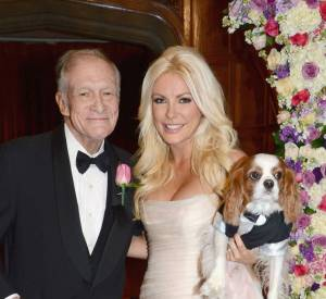 Hugh Hefner et sa troisième femme Crystal Harris.