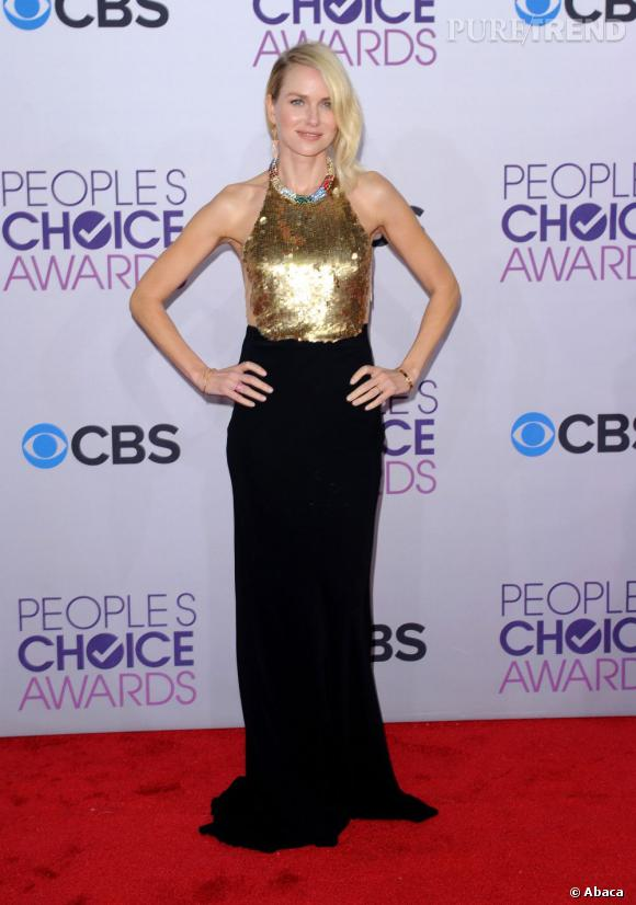 Naomi Watts aux People's Choice Awards 2013 en   Alexander McQueen.