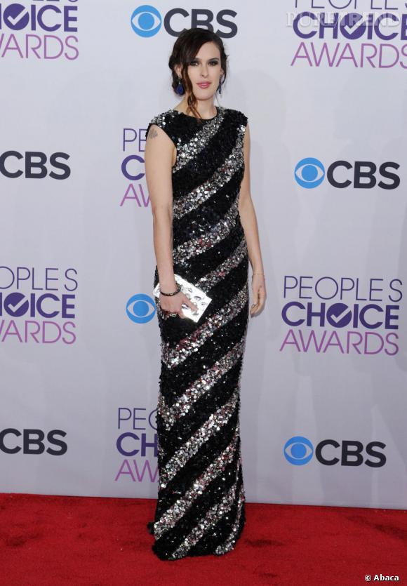 Rumer Willis aux People's Choice Awards 2013 dans une robe Alice + Olivia.