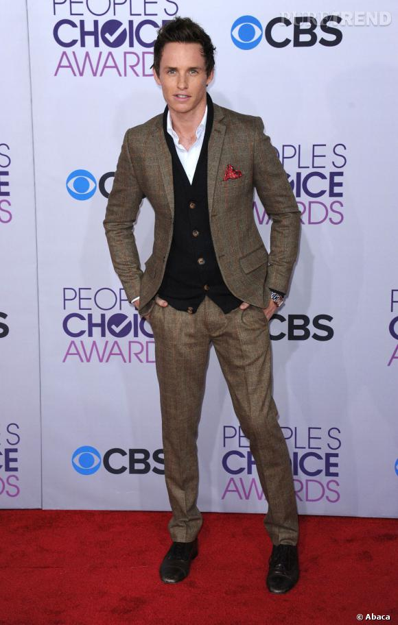 Eddie Redmayne aux People's Choice Awards 2013.