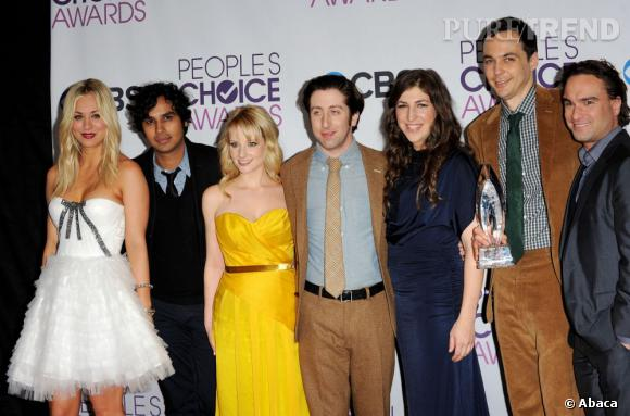 """Big Bang Theory"" meilleure série comique aux People's Choice Awards 2013."