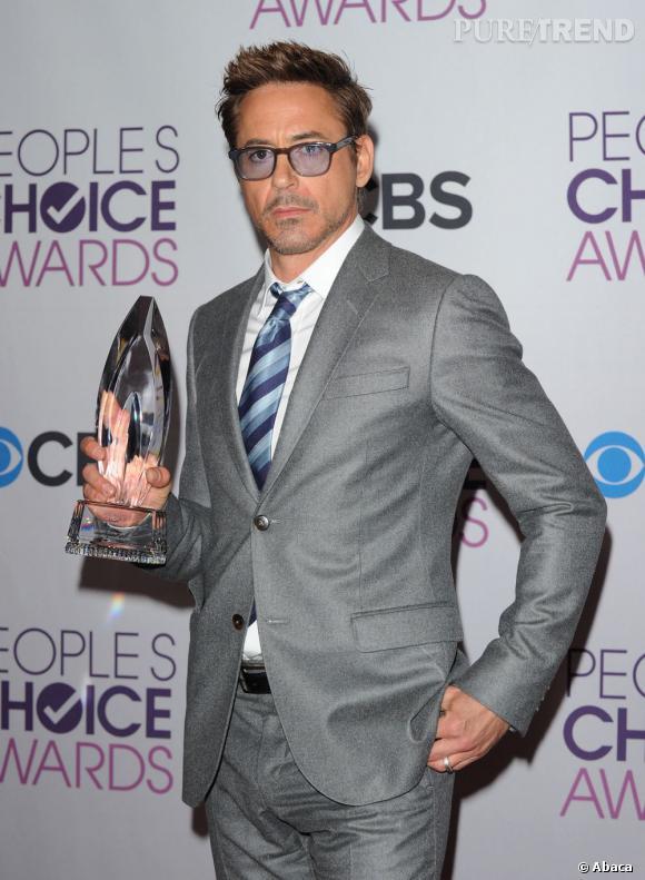 Robert Downey Jr. meilleur acteur et meilleur super-héros aux People's Choice Awards 2013.