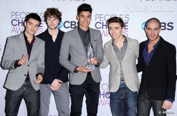 The Wanted, meilleure révélation aux People's Choice Awards 2013.