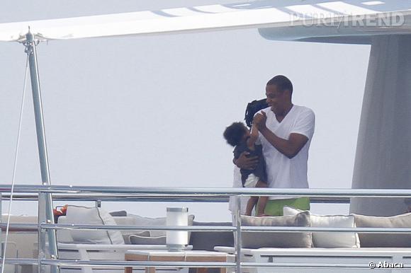Jay-Z véritable papa poule avec Blue Ivy.