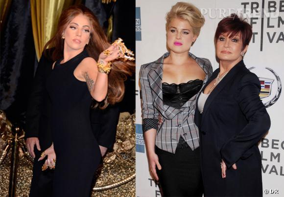 Lady Gaga en guerre contre Kelly et Sharon Osbourne.