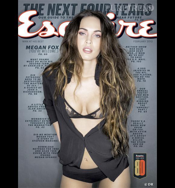 Megan Fox pour Esquire.