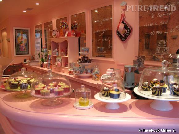Les cupcakes aussi se dégustent version sans gluten et sans sucre (remplacé par du sirop d'agave pour les diabétiques) mais toujours girly chez Chloé S.     Cupcakerie Chloe S. : 40 Rue Jean-Baptiste Pigalle - 75009 Paris