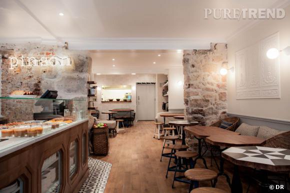 Dernière adresse vegan/bio/sans gluten ni laitage à avoir ouvert à Paris : le Café Pinson.